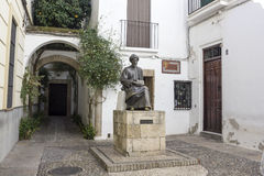 Statue of Maimonides in Cordoba Royalty Free Stock Image