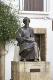 Statue of Maimonides in Cordoba Royalty Free Stock Photos