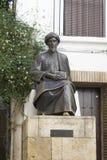 Statue of Maimonides in Cordoba Stock Photos