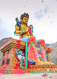 Statue of Maitreya Buddha Royalty Free Stock Photos