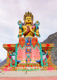 Statue of Maitreya Buddha Royalty Free Stock Photo