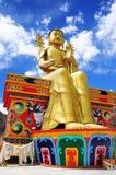 Statue of Maitreya at Likir Monastery Royalty Free Stock Photos