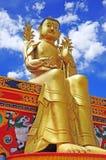 Statue of Maitreya at Likir Monastery Stock Photography