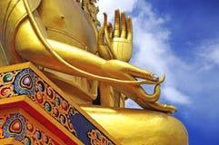 Statue of Maitreya at Likir Monastery Stock Images