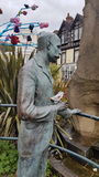 Statue Malvern d'Elgar photos stock