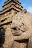 Statue in Mamallapuram Royalty Free Stock Photography