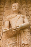 Statue man. A statue of the ancient Thai culture Stock Photo