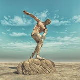 Statue of a man Royalty Free Stock Photo