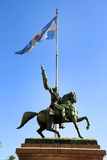 Statue of Manuel Belgrano. The Statue of Manuel Belgrano on the Plaza de Mayo in Buenos Aires, Argentina stock photography
