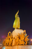The statue of Mao Zedong Stock Photo
