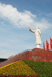 Statue of Mao zedong in Chengdu Royalty Free Stock Image