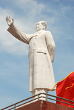 Statue of Mao zedong Stock Image