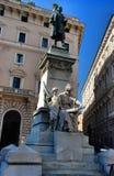 Statue Marco Mingetti rom Stockbilder