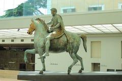 Statue of Marcus Aurelius, Rome Stock Photos
