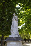 Statue of Marguerite de Navarre Royalty Free Stock Photography