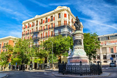 Statue of Maria Cristina near the Museo del Prado - Madrid Royalty Free Stock Photos