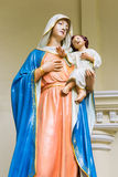 Statue of Maria and jesus Royalty Free Stock Photo