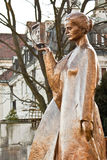 Statue of Marie Curie in Warsaw Royalty Free Stock Photo