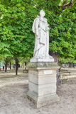 Statue of Marie De Medicis in Luxembourg park in Paris, one of Stock Photos