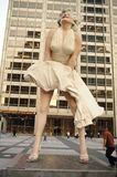 Statue of Marilyn Monroe in Chicago Royalty Free Stock Image