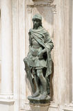 Statue of Mars, God of War, Venice Stock Photo