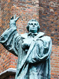Statue of Martin Luther, Hannover, Germany Royalty Free Stock Image