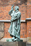 Statue of Martin Luther, Hannover, Germany Stock Images
