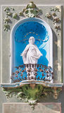 Statue of Mary. Royalty Free Stock Photography