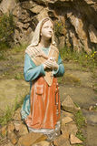 Statue of mary Stock Photo