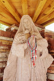 Statue of Mary at Chimayo, New Mexico Stock Photo