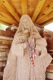 Statue of Mary at Chimayo, New Mexico Stock Photo