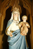Statue of Mary and Jesus Stock Image