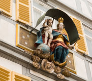 Statue Mary and Jesus Germany Stock Image