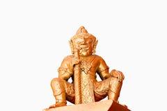 Statue masculine thaïlandaise d'ogre Photos stock