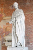 Statue of mathematician Fibonacci in Pisa Stock Photos
