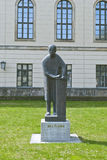 Statue of Max Planck in Berlin Stock Images