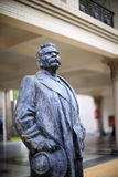 The statue of maxim gorky Royalty Free Stock Images