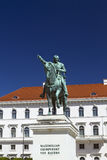 Statue of Maximilian Churfuerst Royalty Free Stock Image