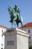 "Statue ""Maximilian Kurfuerst of Bavaria"" Stock Image"