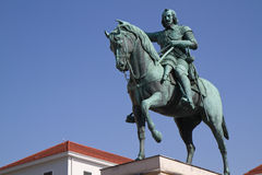 "Statue ""Maximilian Kurfuerst of Bavaria"" Royalty Free Stock Photography"