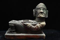 Statue maya antique images libres de droits