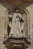 Statue of a medieval man Stock Photography