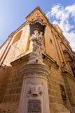 Statue in Medina - Malta Stock Images