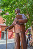 Statue Melbournes Chinatown Stockfotos