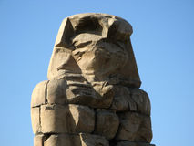 Statue of Memnon Stock Images
