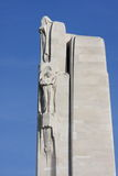 Statue, Memorial of Vimy in france Stock Image