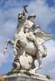 Statue of Mercury in Paris Stock Image