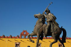 Statue of Mexican Hero Royalty Free Stock Images