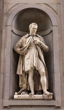 Statue of Michelangelo Royalty Free Stock Images