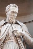 Statue of Michelangelo Buonaroti Stock Image